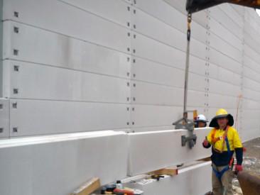 Hebel Sounbarrier - wall construction